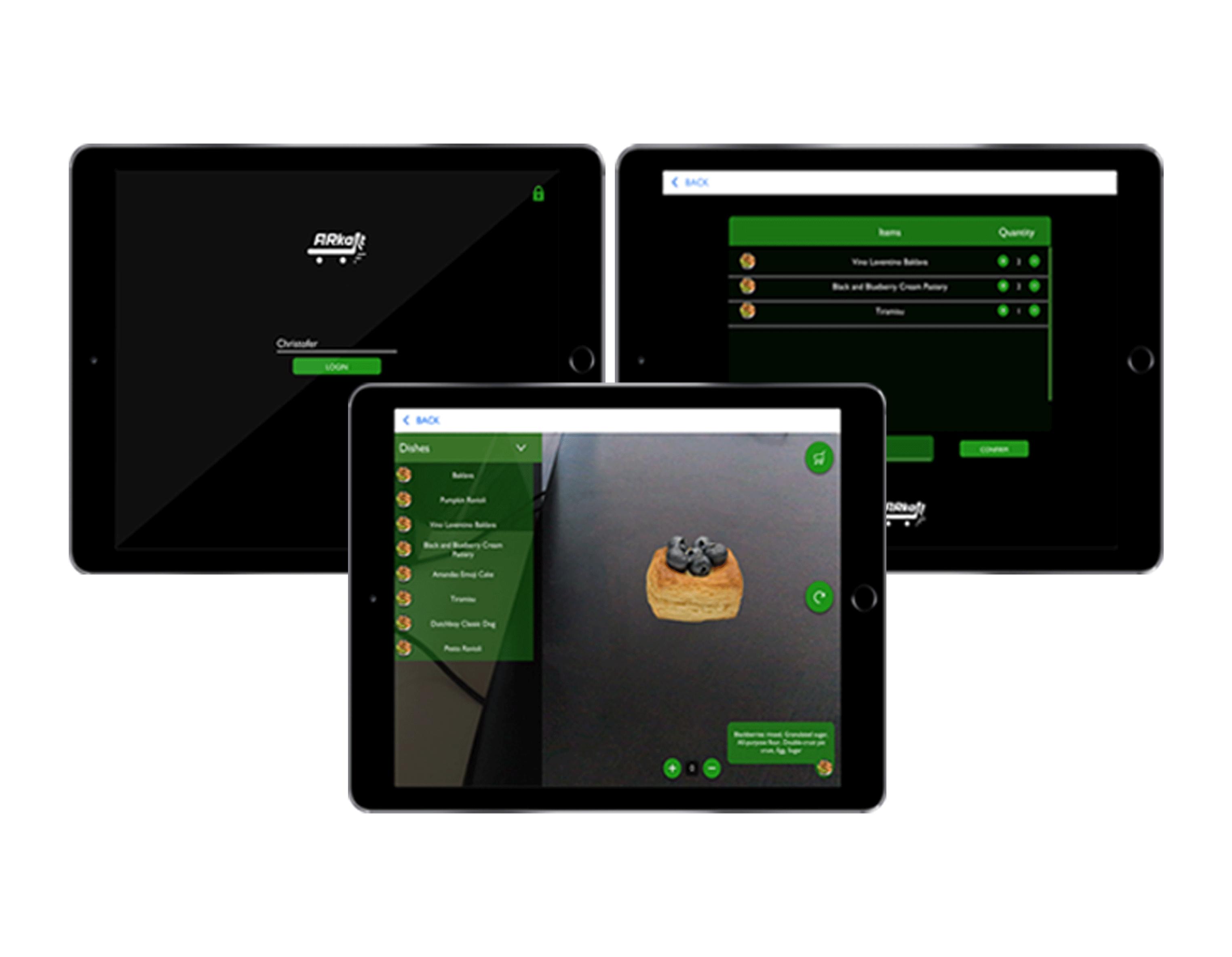 ArKart – 3D Food Visualization App